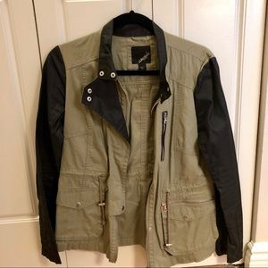Collection B Olive/Black Jacket